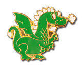 Dragon (2 Color Options) Lapel Pin