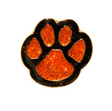 Paw Print - Glitter (7 Color Options) Lapel Pin
