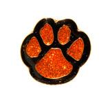 Paw Print - Glitter (6 Color Options) Lapel Pin