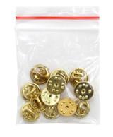 gold pin clutch backs