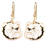 Bulldog Earrings (3 Color Options)