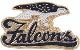 Falcons (2 Color Options) Lapel Pin
