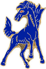 Mustang (3 Color Options) Lapel Pin