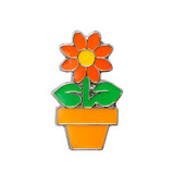 Daisy Lapel Pin (4 Color Options)