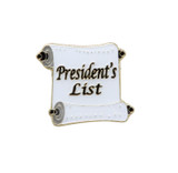 President's List Lapel Pin