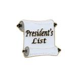 President's List Lapel Pin