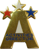 Activities Director Lapel Pin
