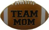 Team Mom Football Lapel Pin