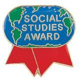 Social Studies Award Lapel Pin