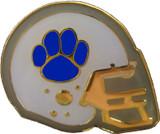Football Helmet (Blue) Lapel Pin