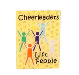 Cheerleaders Lift People Lapel Pin (CHR-208)