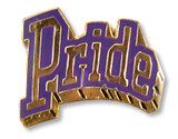 Pride (Purple) Lapel Pin