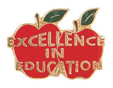 Excellence in Education Lapel Pin