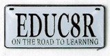 EDUC8R on the road to learning Lapel Pin