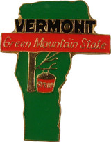 Vermont State Lapel Pin