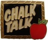 Chalk Talk Lapel Pin