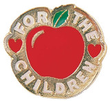 For the Children Lapel Pin