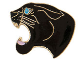 Panther (black) Lapel Pin