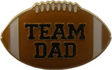 Team Dad Football Lapel Pin