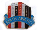 Math Award Lapel Pin