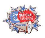 FCC 2012 Nationals Judge Lapel Pin