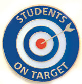 Students on Target Lapel Pin