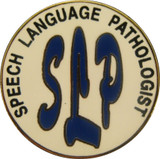 Speech Language Pathologist Lapel Pin