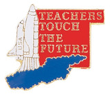 Teachers Touch the Future Lapel Pin