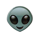 Alien Emoji Lapel Pin