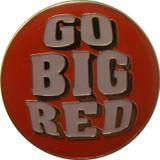 Go Big Red Lapel Pin