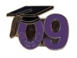 Class of 09' Purple Lapel Pin