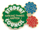 Student Council Making Things Happen Lapel Pin