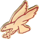 Red Hawk Lapel Pin