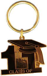 Key Ring Class of 11' Black
