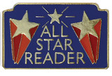 All Star Reader Lapel Pin