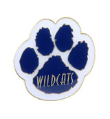 Paw with Wildcats Lapel Pin