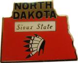 North Dakota State Lapel Pin