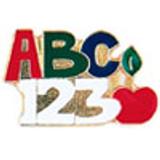 ABC 123 Lapel Pin