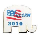GCCRW 2010 Lapel Pin