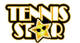 Tennis Star in GOLD Lapel Pin