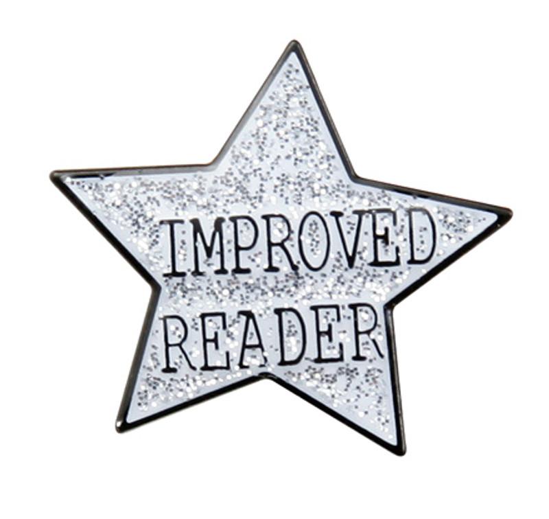 Improved ReaderStar Lapel Pin
