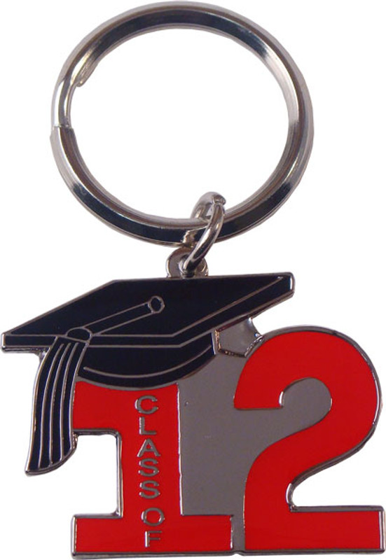 Key Ring Class of 12' Red
