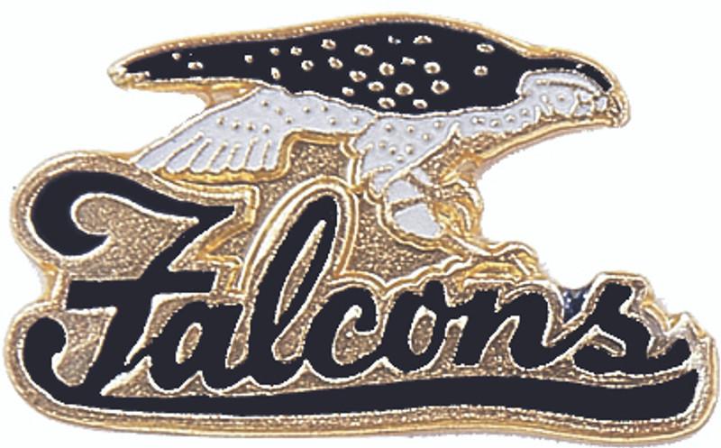 Falcons (Black) Lapel Pin
