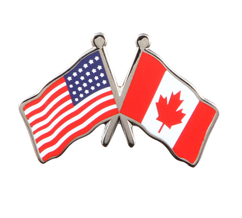 US/Canadian Flag Combo