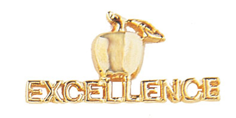 Golden Apple Excellence Lapel Pin