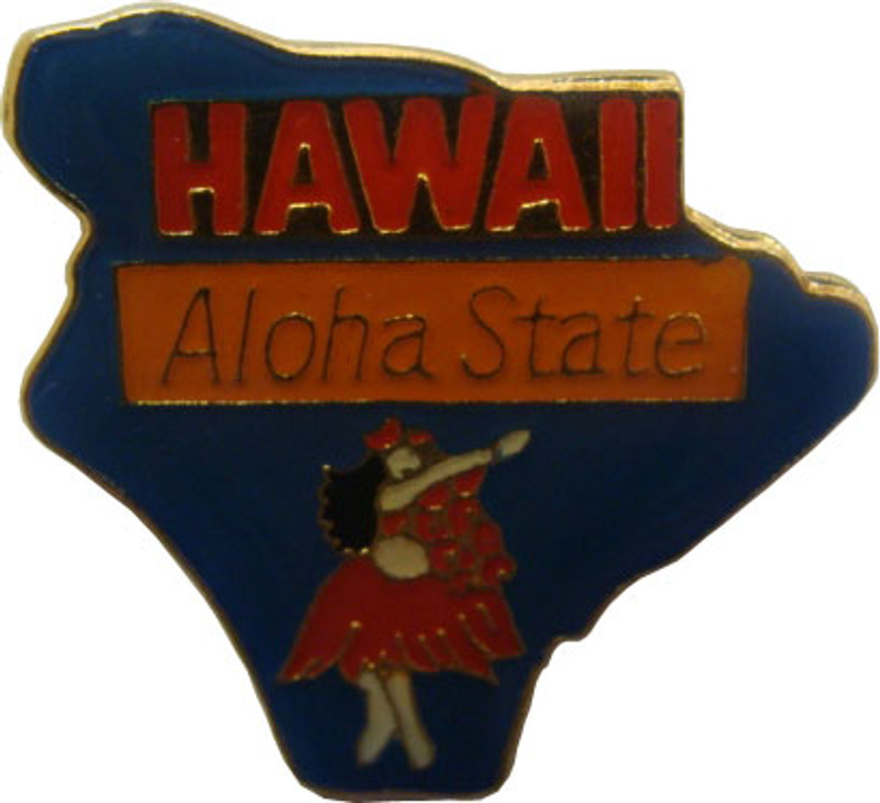 Hawaii State Lapel Pin