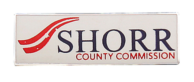 Shorr County Commission Lapel Pin
