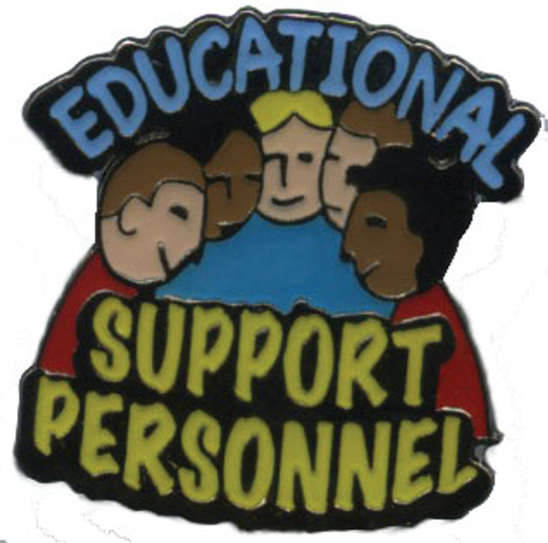 Educational Support Personnel Lapel Pin