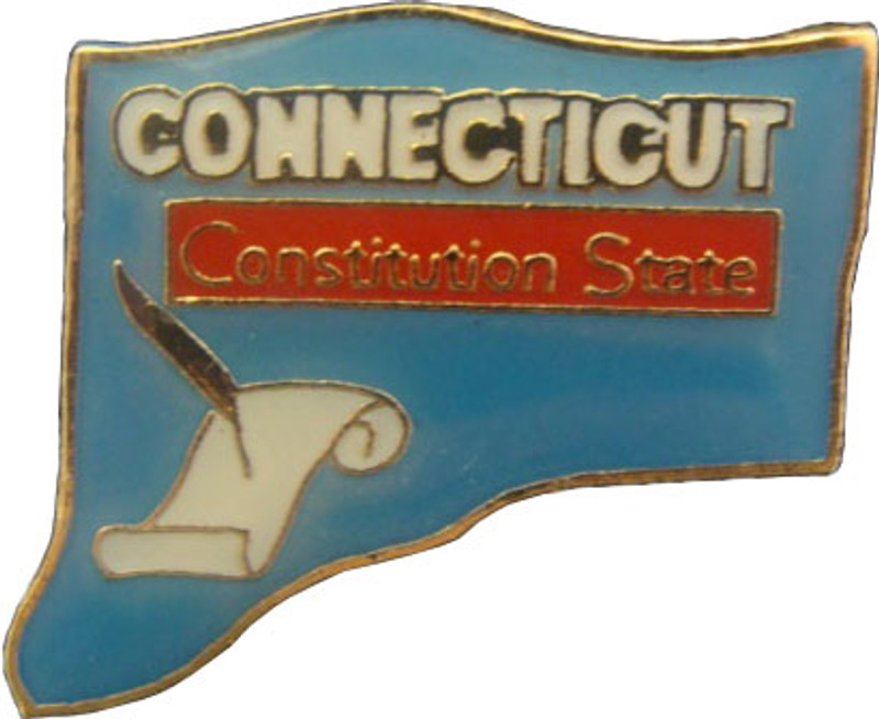 Connecticut State Lapel Pin
