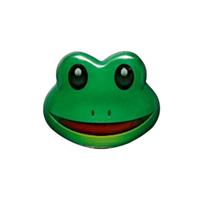 Frog Emoji Lapel Pin
